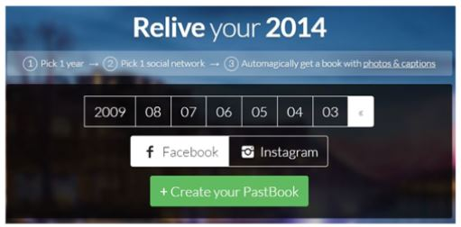 Relive2014-pastBook